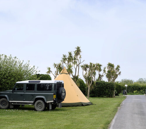 Camping touring use